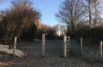 The entrance to Spanbroekmolen Mine Crater Memorial, The Pool of Peace – Messines Discovery Battlefield Tour