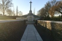 Entrance to the Messines Ridge Cemetery and the New Zealand Memorial – Messines Discovery Battlefield Tour