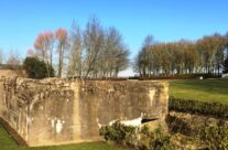 Both German bunkers at the New Zealand Memorial Park – Messines Discovery Battlefield Tour