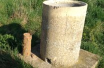 A World War One shell found by Quarry Cemetery – Arras 100 Anniversary Battlefield Tour