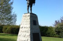 Bullecourt Digger at the Australian Memorial Park – Arras 100 Anniversary Battlefield Tour