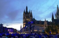 Evening event of remembrance at the Cloth Hall, Ypres – Passchendaele Anniversary Remembrance Battlefield Tour