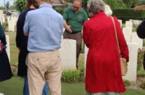 Grave of Rifleman Valentine Joe Strudwick, age 15, Essex Farm Cemetery – Passchendaele Anniversary Remembrance Battlefield Tour