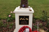 War Animal Memorial at Pozieres, Somme and Ypres Battlefield Tour