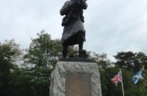 Black Watch Corner Memorial to the 1st Battalion The Black Watch (Royal Highlanders), Somme and Ypres Battlefield Tour