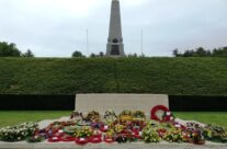 Stone of Remembrance and Memorial to the Australian Fifth Division at Buttes New British Cemetery, Polygon Wood, Somme and Ypres Battlefield Tour