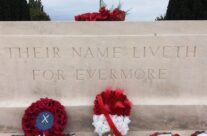 The Stone of Remembrance at Tyne Cot Cemetery, Somme and Ypres Battlefield Tour