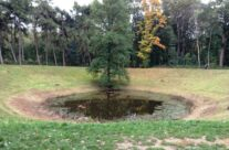 The Caterpillar Crater, Somme and Ypres Battlefield Tour