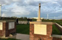 At the Welsh Cemetery (Caesar's Nose) – Armistice in Ypres and Passchendaele 100 Anniversary Battlefield Tour