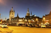 The Grote Markt in Ypres that evening – Taste of Flanders Ypres Battlefield Tour