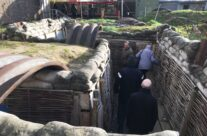 Trenches at Hooge – Armistice in Ypres and Passchendaele 100 Anniversary Battlefield Tour