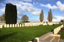 New Irish Farm Cemetery – Armistice in Ypres and Passchendaele 100 Anniversary Battlefield Tour