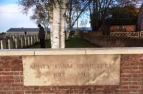 Minty Farm Cemetery – Armistice in Ypres and Passchendaele 100 Anniversary Battlefield Tour