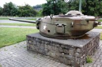 10th Armored Division Memorial. These mark the defensive perimeter of Bastogne – Easy Company Private Battlefield Tour