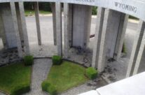 Looking down from top of the Mardasson Memorial – Easy Company Private Battlefield Tour