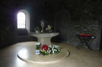 Inside the Chapel at Recogne German War Cemetery – Easy Company Private Battlefield Tour