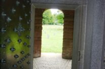 View from chapel onto the German War Cemetery at Recogne – Easy Company Private Battlefield Tour