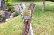 Plaque dedicated to the 101st Airborne in Rachamps – Easy Company Private Battlefield Tour