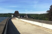 Path along top of the Möhne Dam wall – Dam Busters Private Battlefield Tour