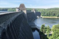 Möhne Dam, the side that was flooded – Dam Busters Private Battlefield Tour