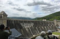 Rear of Eder Dam – Dam Busters Private Battlefield Tour