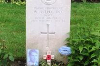 Flt Lt William Astell's grave at Reichswald Forest Cemetery – Dam Busters Private Battlefield Tour