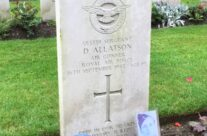 Sergeant Daniel Allatson's grave at Reichswald Forest Cemetery – Dam Busters Private Battlefield Tour