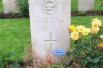 Pilot Officer Warner (Bill) Ottley's grave at Reichswald Forest Cemetery – Dam Busters Private Battlefield Tour