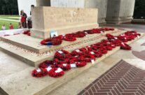 The Stone of Remembrance at the Thiepval Memorial to the Missing – Etaples and Somme WW1 Battlefield Tour