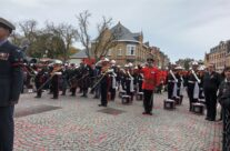 The Remembrance Ceremony at the Menin Gate – 2018 Armistice Remembrance Day in Ypres