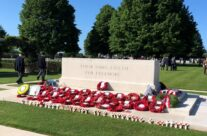 The Stone of Remembrance at Bayeux War Cemetery – Normandy and D-Day Landings 75th Anniversary Tour