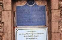 Memorial to Lt Col John McCrae at Wimereux Communal Cemetery – Somme and Ypres WW1 Battlefield Tour