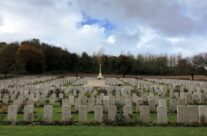Flatiron Copse Cemetery – Somme and Ypres WW1 Battlefield Tour