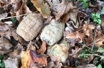 WW1 grenades found near Flatiron Copse Cemetery – Somme and Ypres WW1 Battlefield Tour