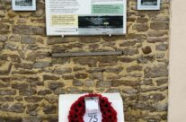Memorial dedicated to CSM Stanley Hollis VC and the men of The Green Howards at Gold Beach – Normandy and D-Day Landings 75th Anniversary Tour