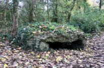 WW1 bunker near Caterpillar Crater – Somme and Ypres WW1 Battlefield Tour