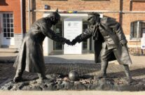 Christmas Truce memorial at Messines – Somme and Ypres WW1 Battlefield Tour