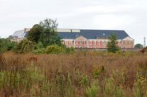 Continuing our tour the next day, Loos Prison where Stephen was held – Gardens of Stone book by Stephen Grady WW2 Tour