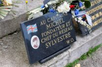 Lille Southern Cemetery – Resistance Memorial & Grave of Captain Michael Trotobas – Gardens of Stone book by Stephen Grady WW2 Tour