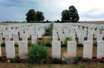 St. Mary's ADS Cemetery WW1 British Cemetery – Gardens of Stone book by Stephen Grady WW2 Tour