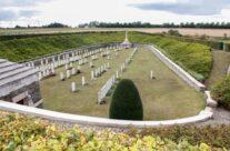 Quarry WW1 cemetery – Gardens of Stone book by Stephen Grady WW2 Tour