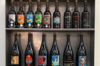 Good selection at St Bernardus Brewery – Beers and Battlefields of Flanders WW1 Tour