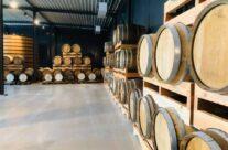 Beer aged in cognac and brandy barrels at Bierkasteel Brewery – Beers and Battlefields of Flanders WW1 Tour