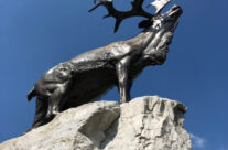 The Caribou on the Newfoundland Park Memorial – Somme and Ypres WW1 Battlefield Tour