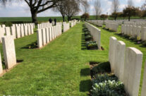 Warlencourt British Cemetery for a personal visit – Somme and Ypres WW1 Battlefield Tour
