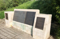 Memorial to the poem 'In Flanders Fields' written by Lieutenant Colonel John McCrae here at Essex Farm – Somme and Ypres WW1 Battlefield Tour
