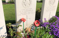 Grave of Rifleman Strudwick, aged 15 at Essex Farm Cemetery – Somme and Ypres WW1 Battlefield Tour