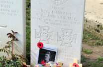 Grave of double VC winner Captain Chavasse, Brandhoek New Military Cemetery – Somme and Ypres WW1 Battlefield Tour