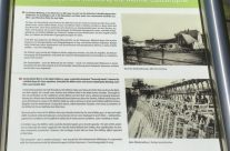 Möhne Dam information board – Dam Busters Private Battlefield Tour