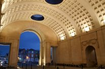 Under the Menin Gate, Ypres, in the Hall of Memory, the eve of Armistice – 2016 Armistice Day in Ypres and Battlefield Tour